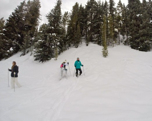 Copper Mountain Snowshoeing Tour