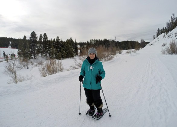 Snowshoeing at Copper Mountain