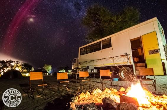 Botswana Night Sky - GettingStamped