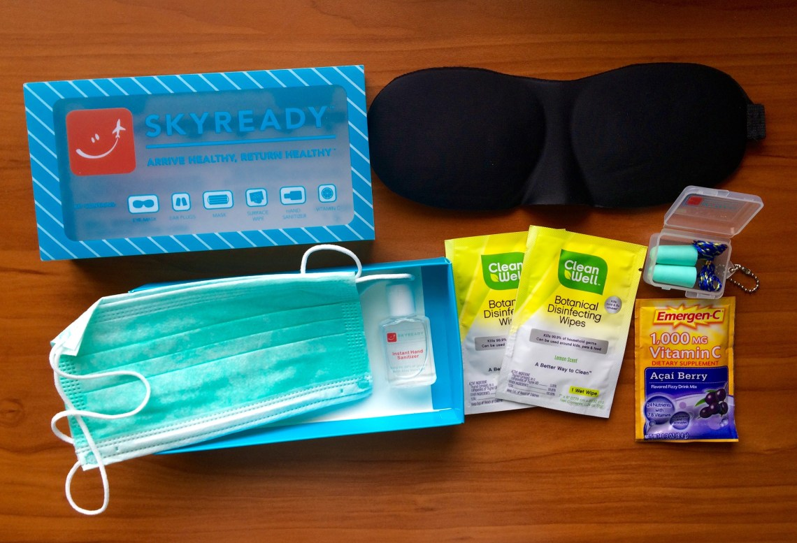 SkyReady Healthy Travel Contents