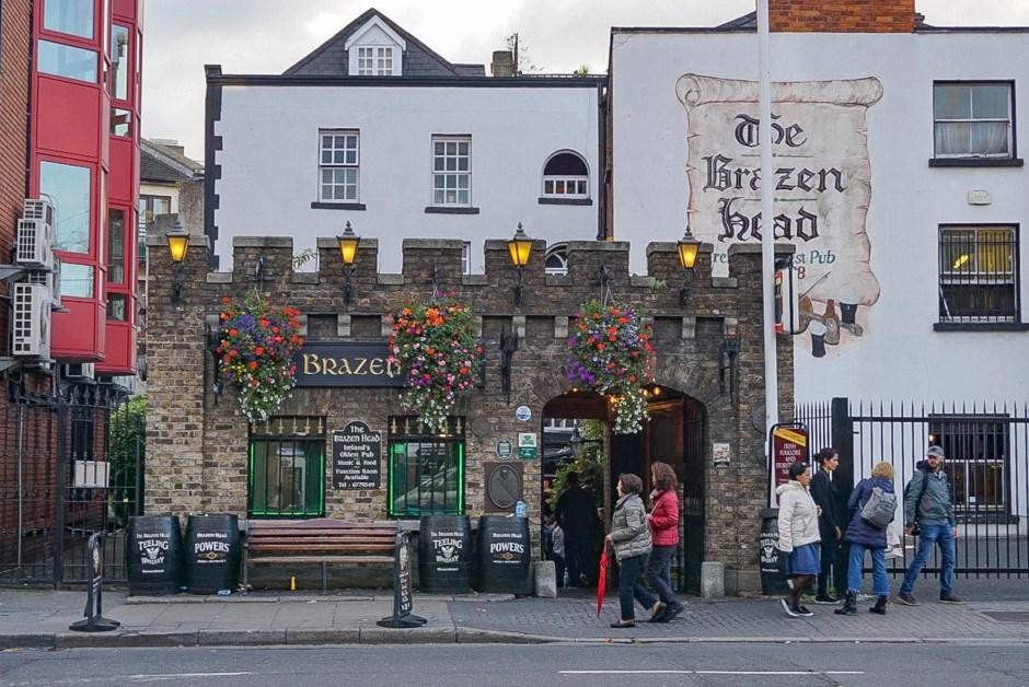 The Brazen Head Dublin Ireland