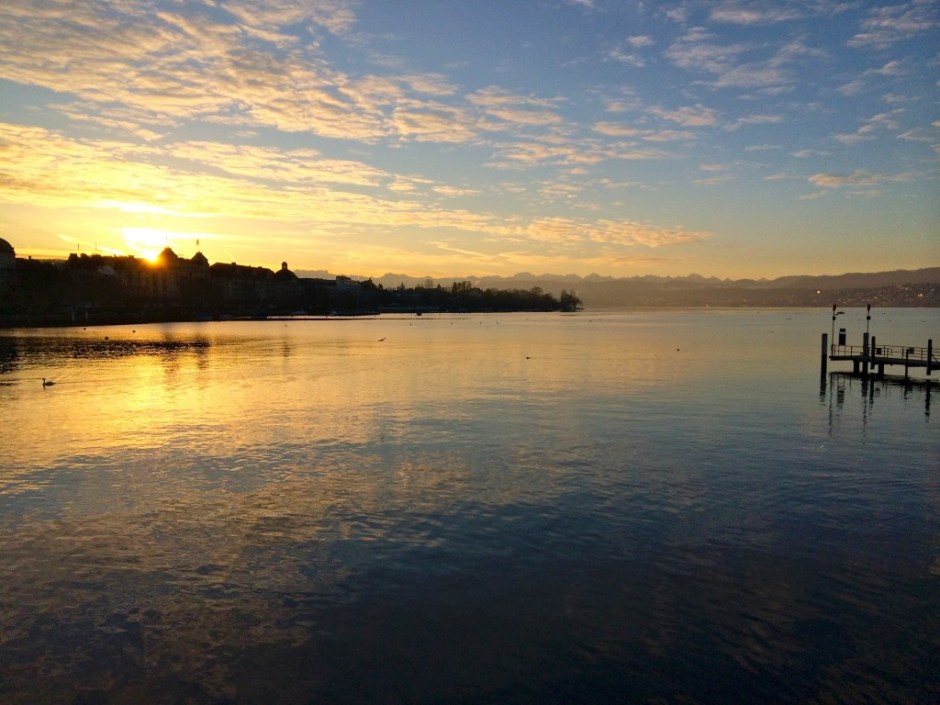 Zurich Switzerland Sunrise