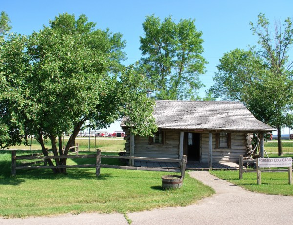Bonanzaville USA Log Cabin