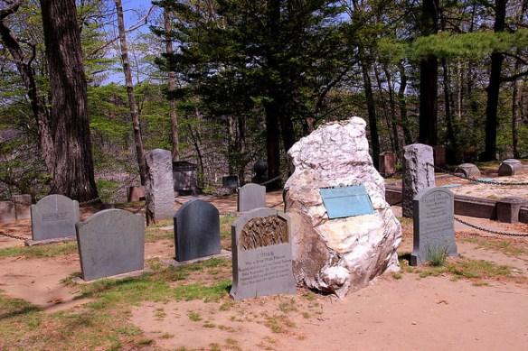 Ralph Waldo Emersons Grave - Sleepy Hollow Cemetery