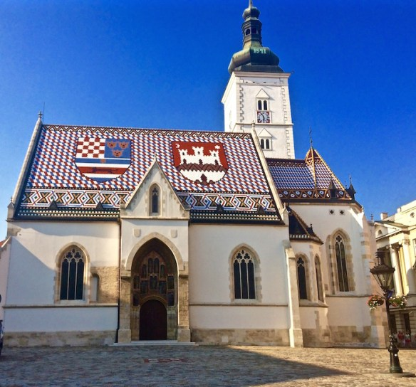 St Marks Church Zagreb Croatia