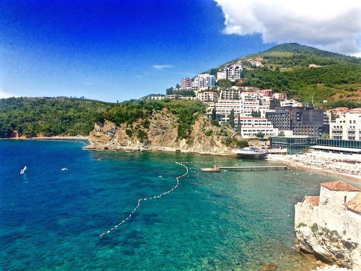 Beaches in Budva Montenegro