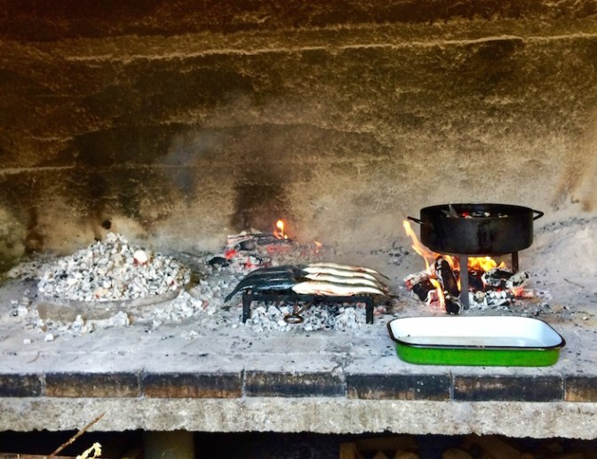 Cooking Peka in Croatia