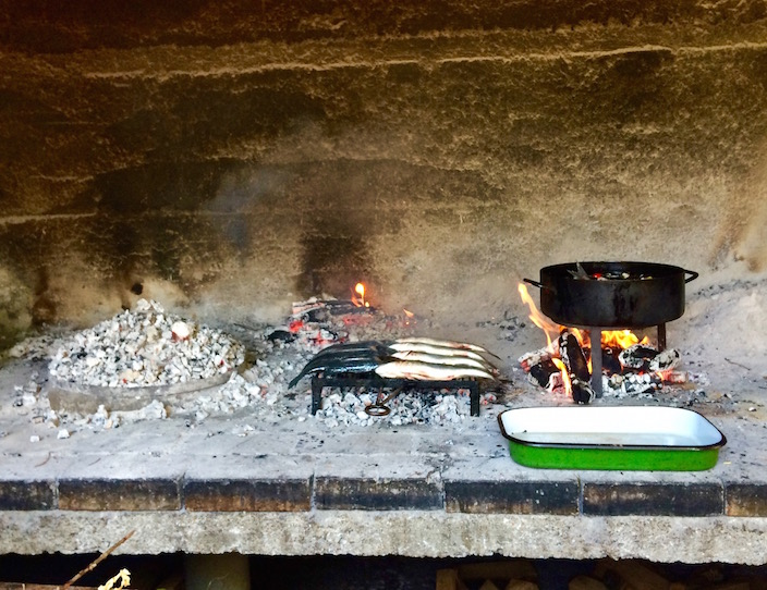 Cooking Peka in Croatia