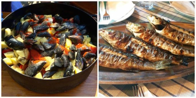 Croatian Fish Stew and Grilled Fish