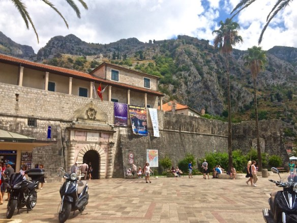 Entrace to Old Kotor