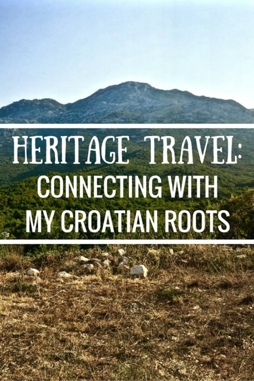Heritage Travel - Connecting With My Croatian Roots