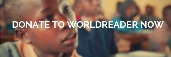 Donate to Worldreader