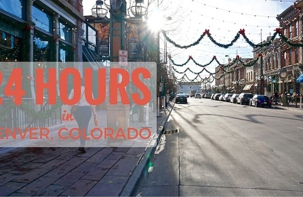 24 Hours in Denver Colorado - Staycation