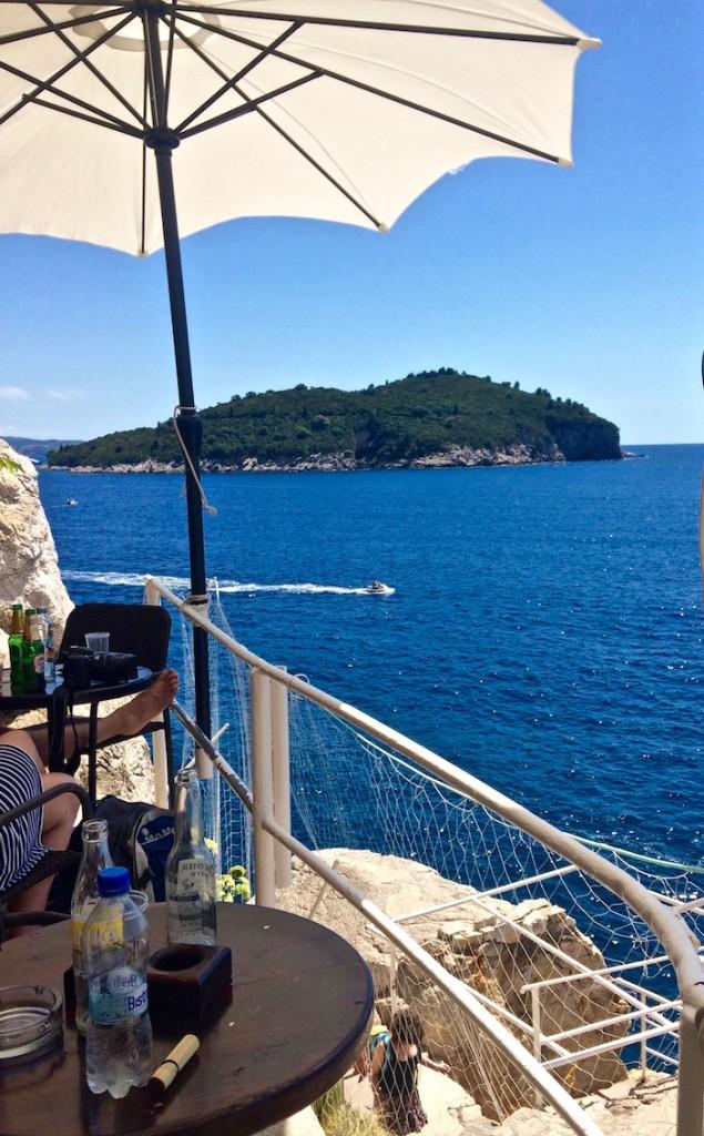 Café Buža Dubrovnik Croatia