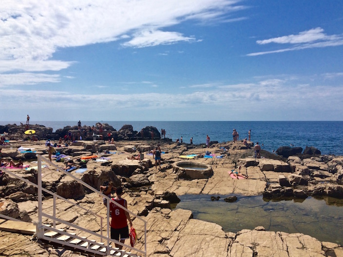 Rocky Beaches on the Island of Lokrum