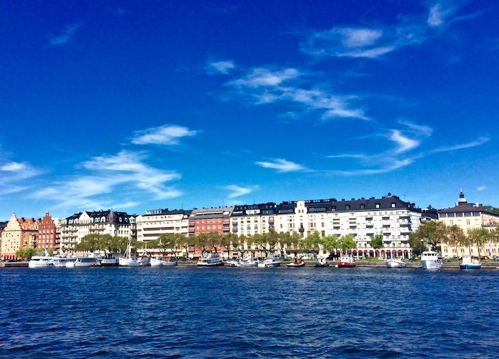 Scenery in Stockholm Sweden
