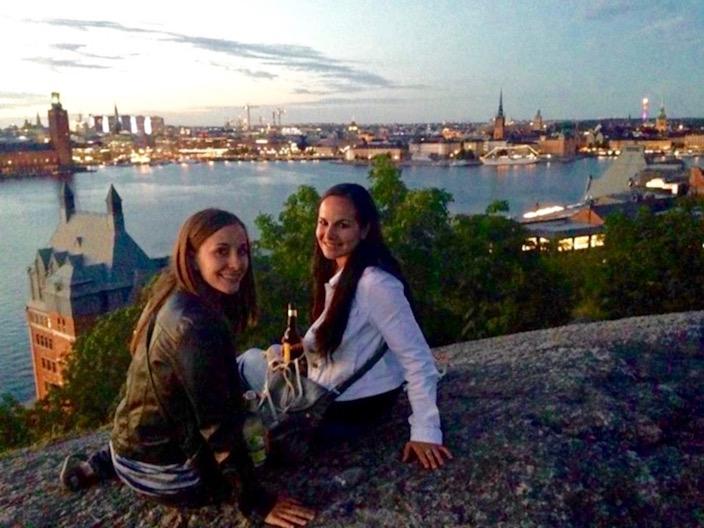 Skinnarviksberget Sweden Sunset