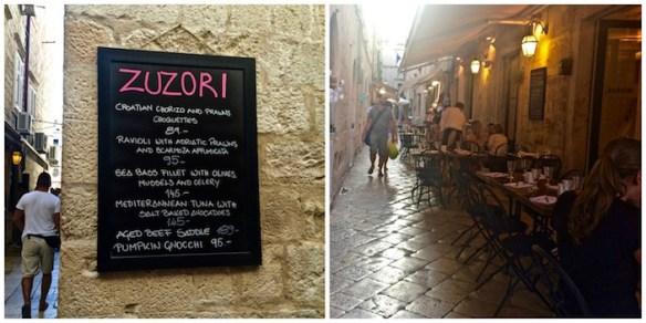 Zuzori Restaurant Dubrovnik
