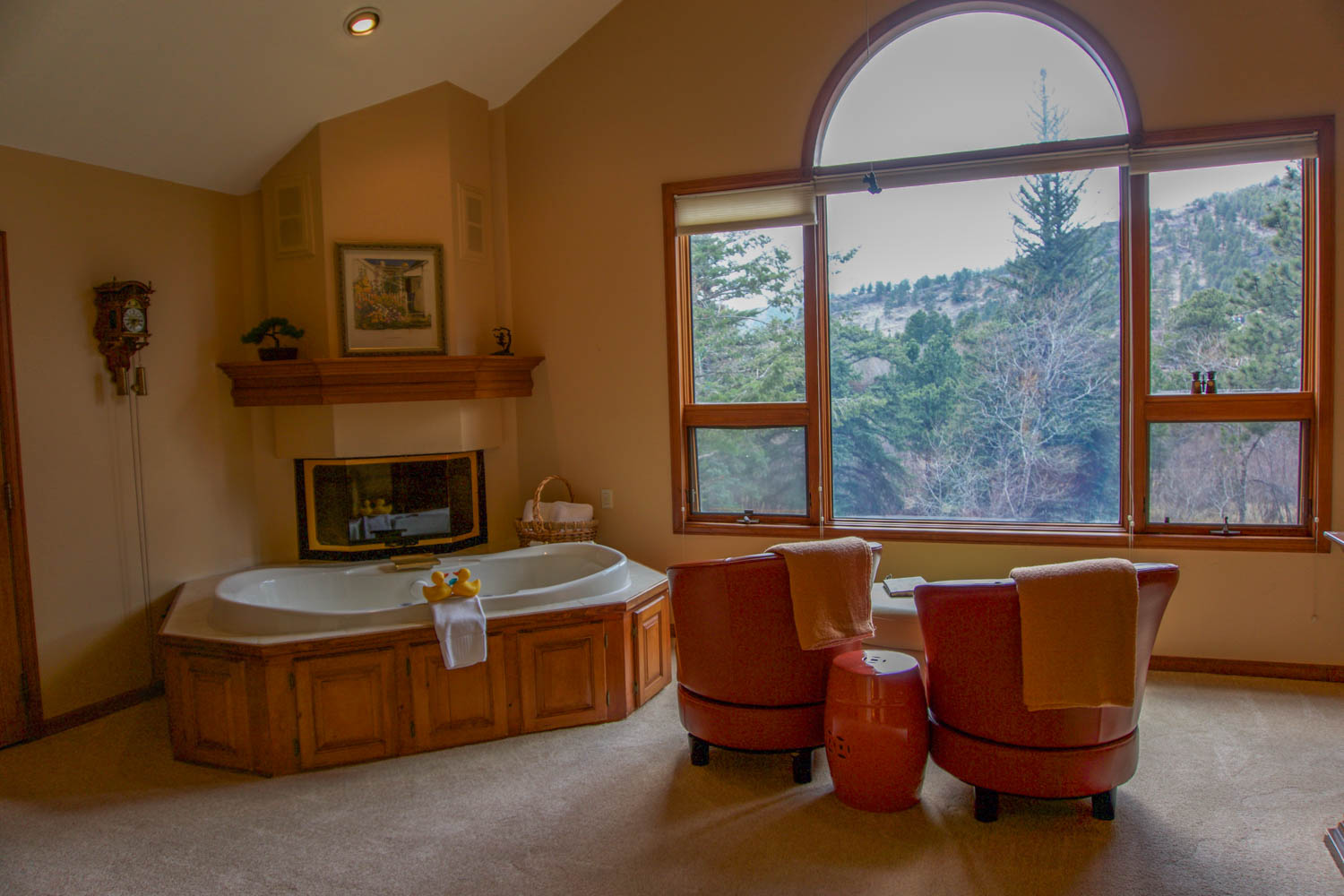 mountain retreat at the romantic riversong bed and breakfast