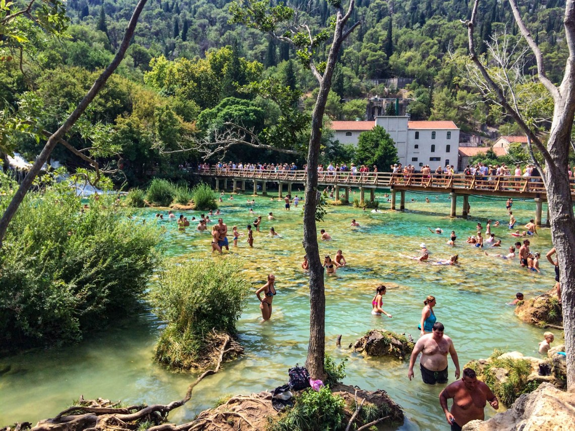Visit Krka National Park Croatia Summer
