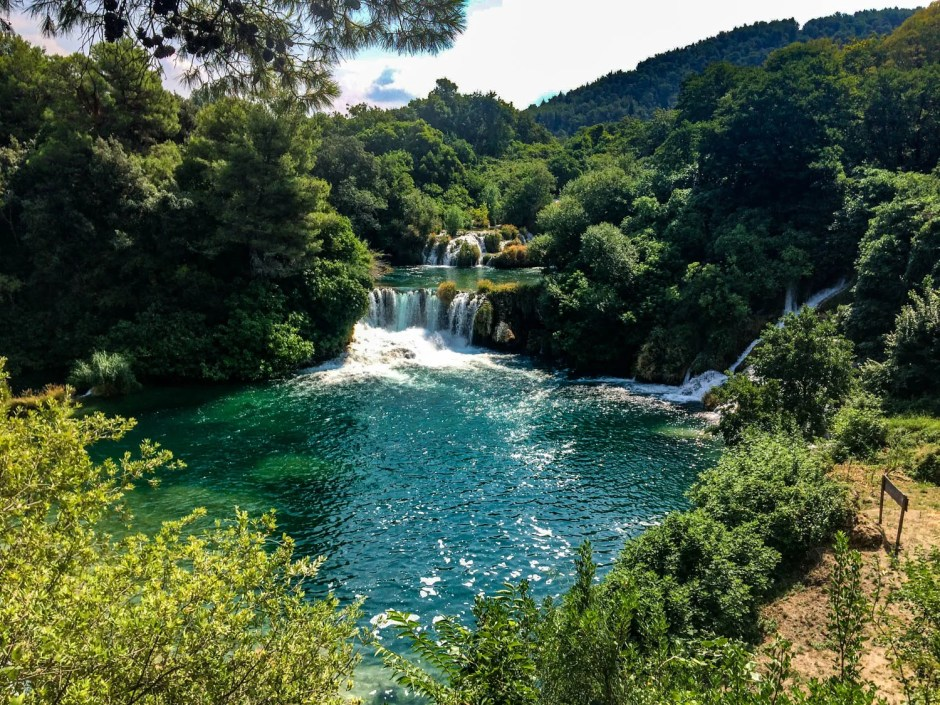 Waterfalls Krka National Park Croatia