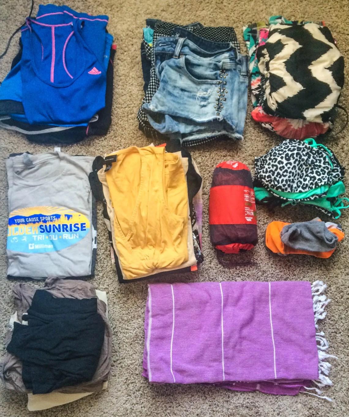 Backpacking Croatia Packing List