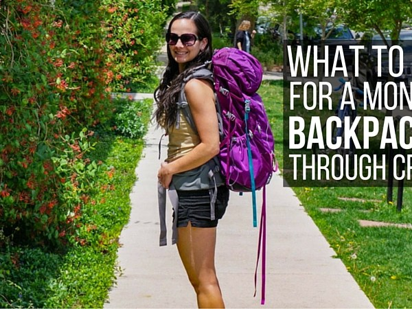 What to Pack for One Month Backpacking Croatia
