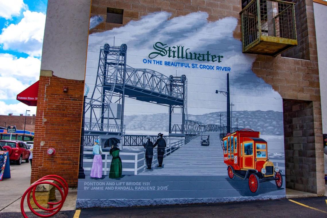 Old Historic Stillwater Minnesota Small Town