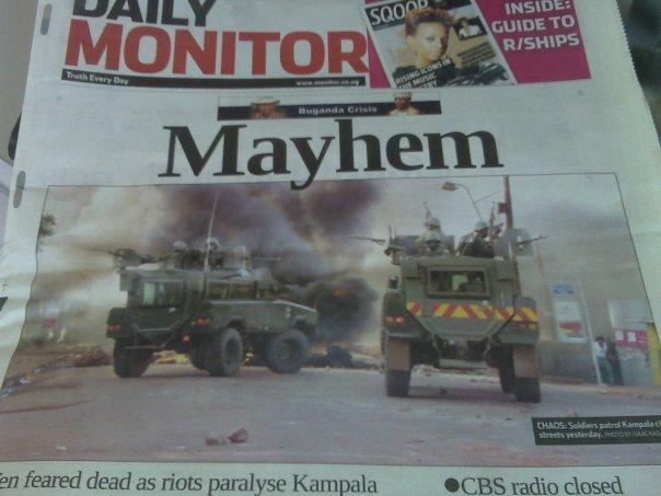 Post Election Violence in Kenya