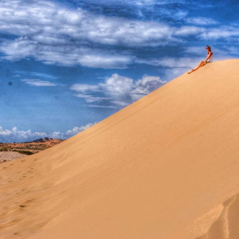 Sand Dunes Vietnam