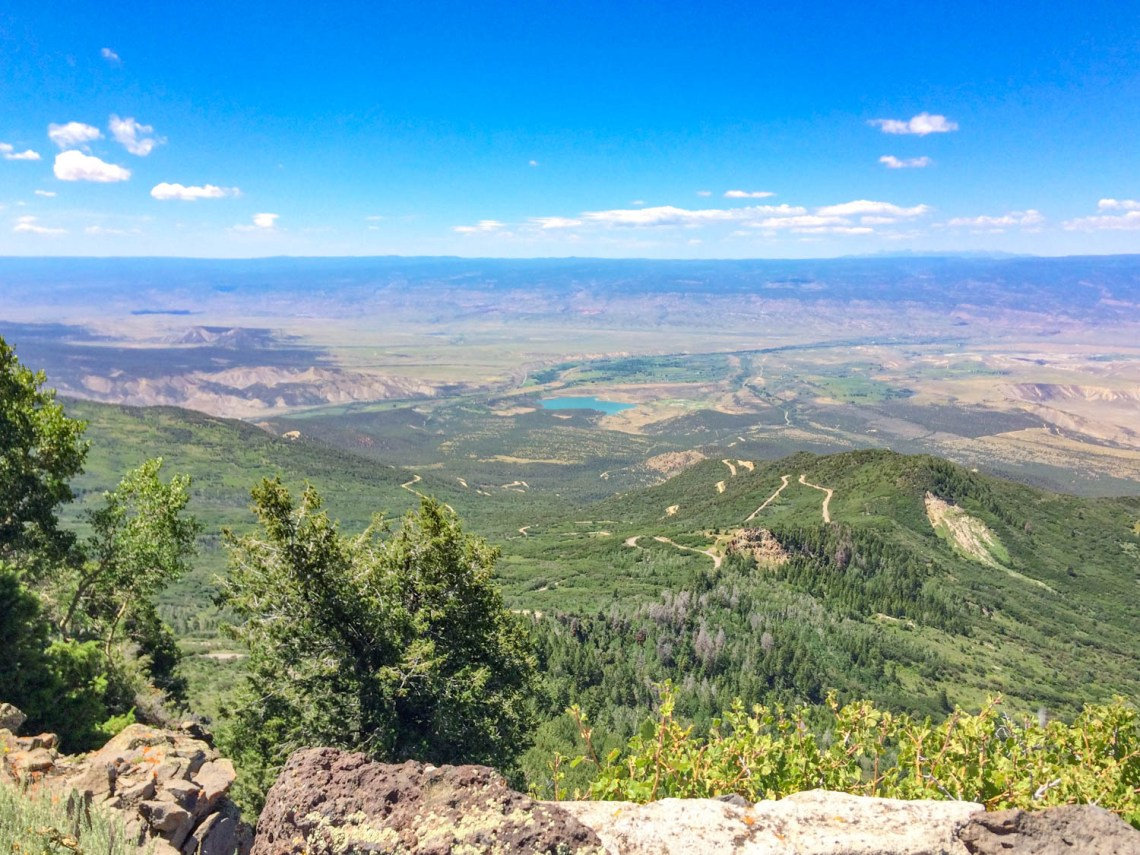 Grand Mesa National Forest Southwestern Colorado Road Trip