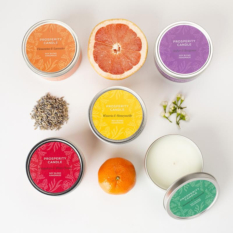 Prosperity Candle - Earth Day Gifts