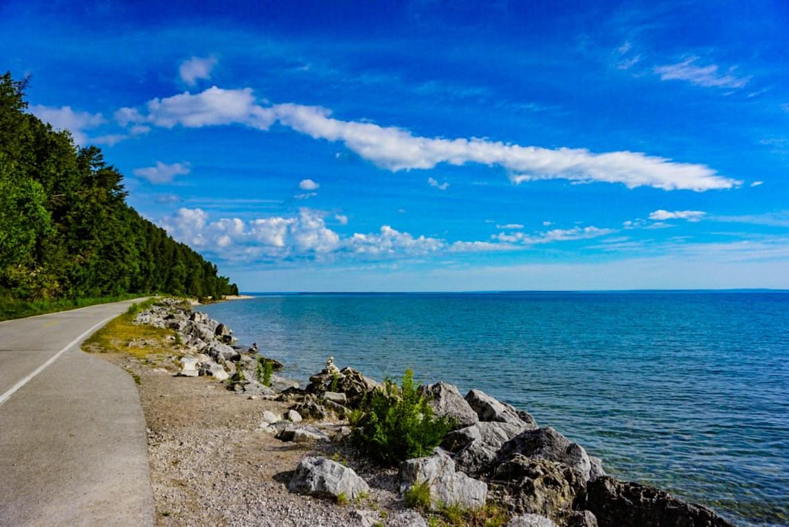 Mackinac Island Travel Guide - Bike Ride Path