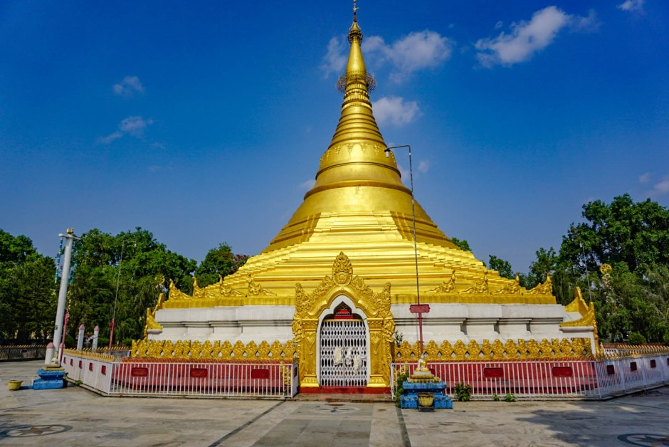 Myanmar Golden Temple Lumbini Nepal