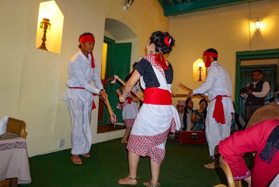 Nepalese Cultural Dance Bhojan Griha Kathmandu
