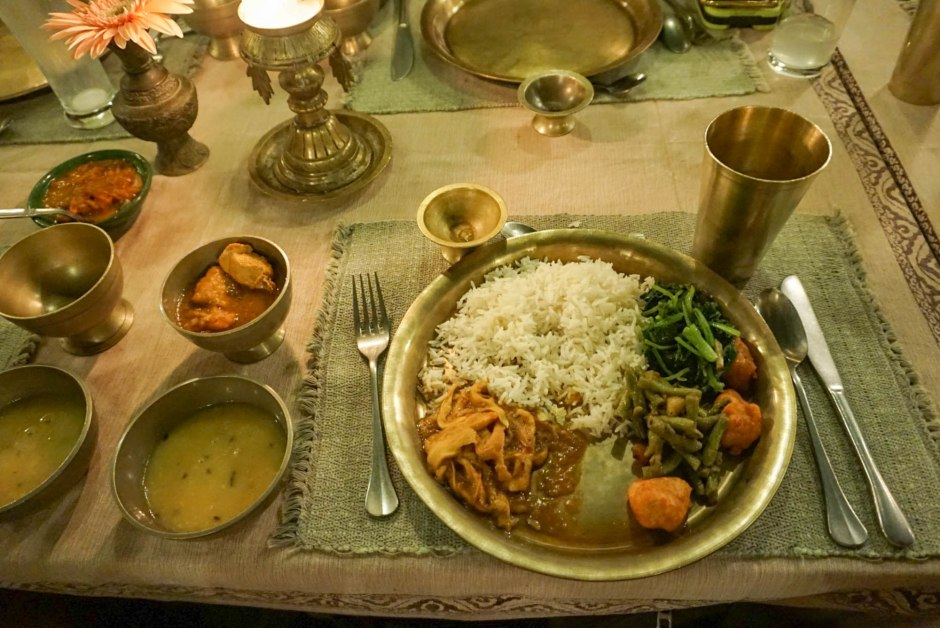 Nepalese Food Bhojan Griha Kathmandu Restaurant