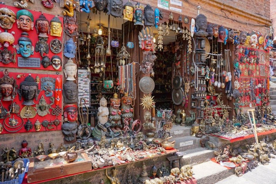Souvenir Shops Thamel - Things to do in Kathmandu Nepal