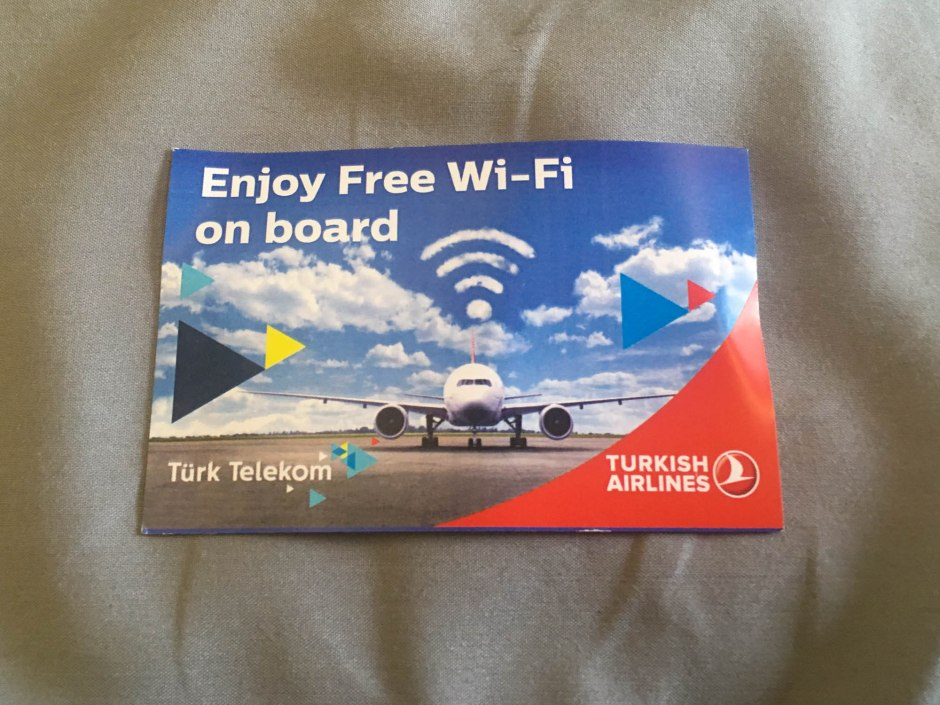 Free Wifi Turkish Airlines Electronics Ban