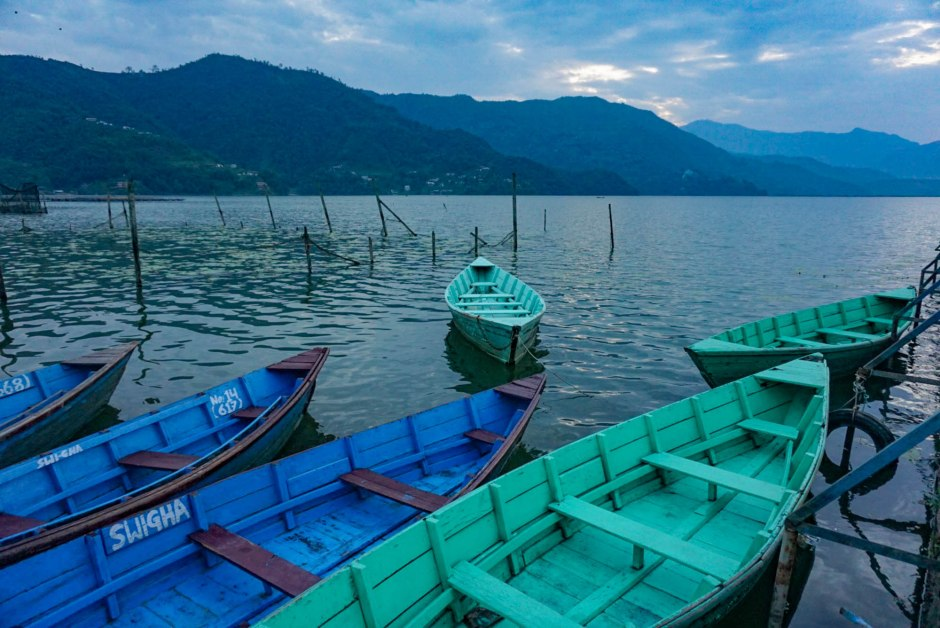Phewa Lake Boats - Things to do in Pokhara Nepal