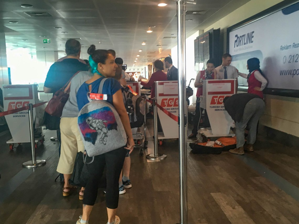 Turkish Airlines Electronics Ban Experience