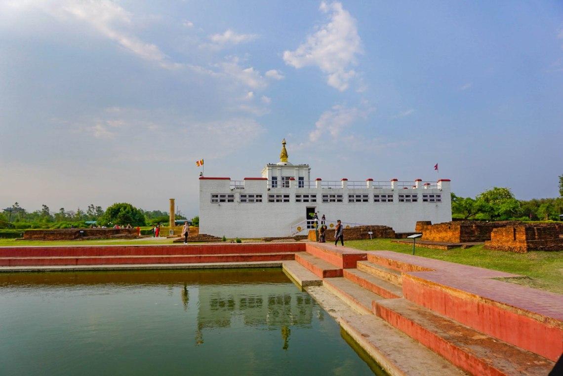 Maya Devi Temple Birthplace of Buddha Lumbini Nepal
