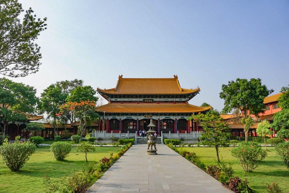 Zhong Hua Chinese Buddhist Monastery Lumbini Nepal