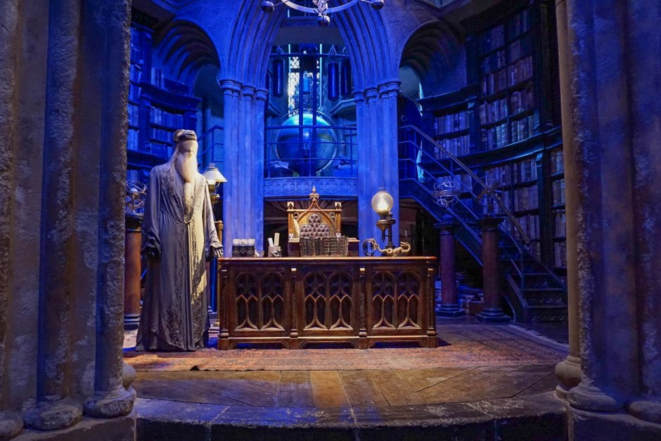 Dumbledores Office The Making of Harry Potter