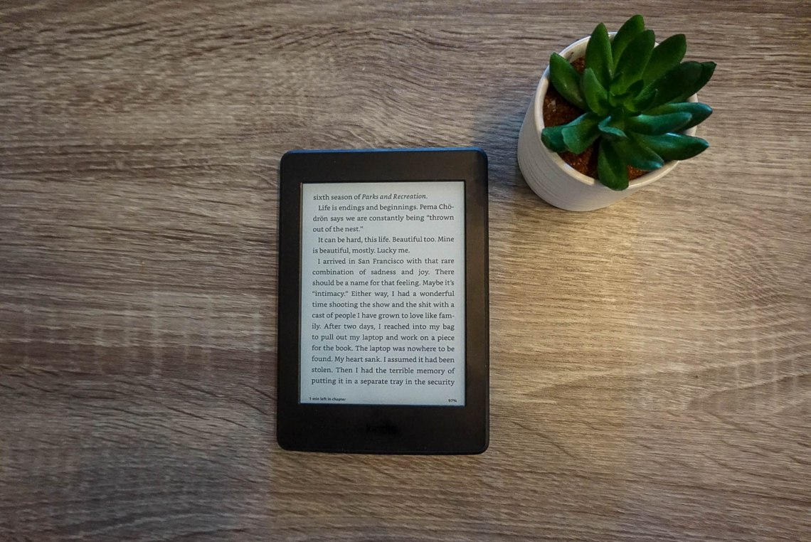 Kindle Paperwhite E-reader Travelers Gift Guide