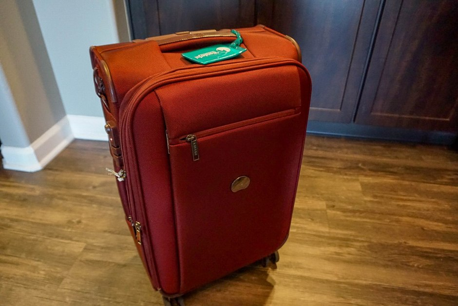 Travelers Gift Guide DELSEY Montmartre Carry On Suitcase