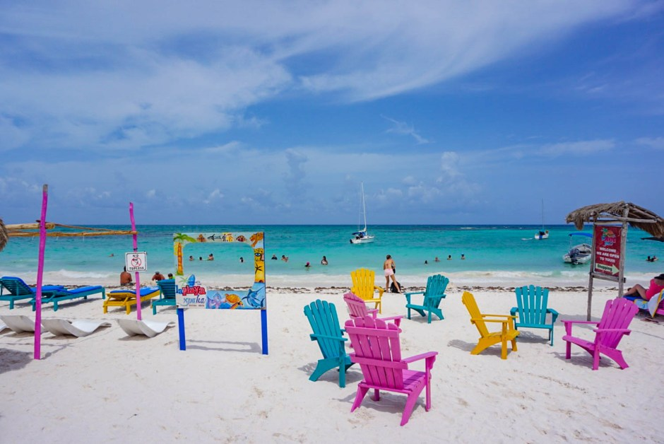 Beaches and things to do in Playa del Carmen Mexico