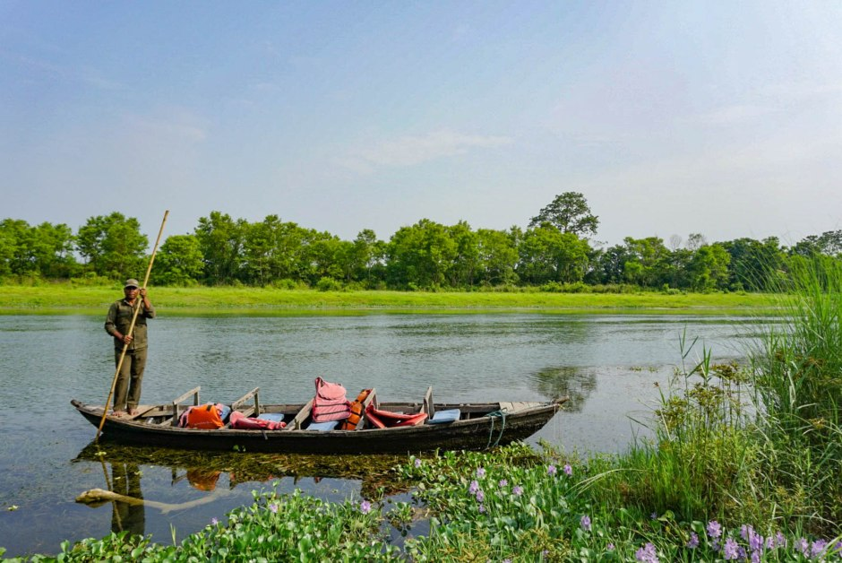 Boating Chitwan National Park Nepal Travel Guide
