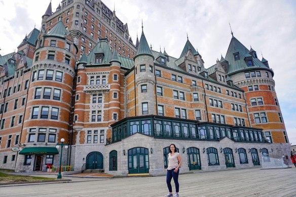 Prana Château Frontenac Québec City