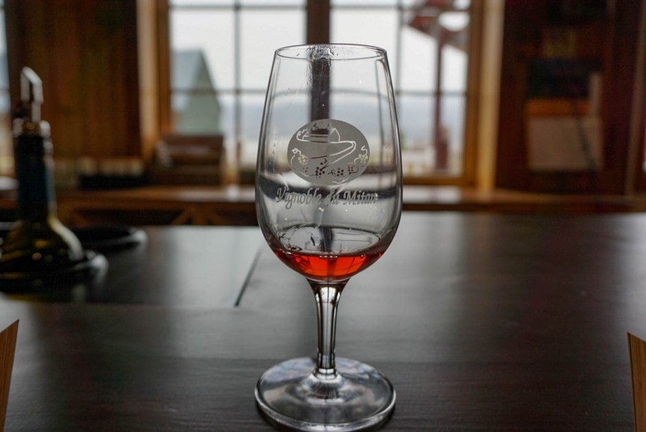 Vignoble du Mitan - Weekend in Québec City