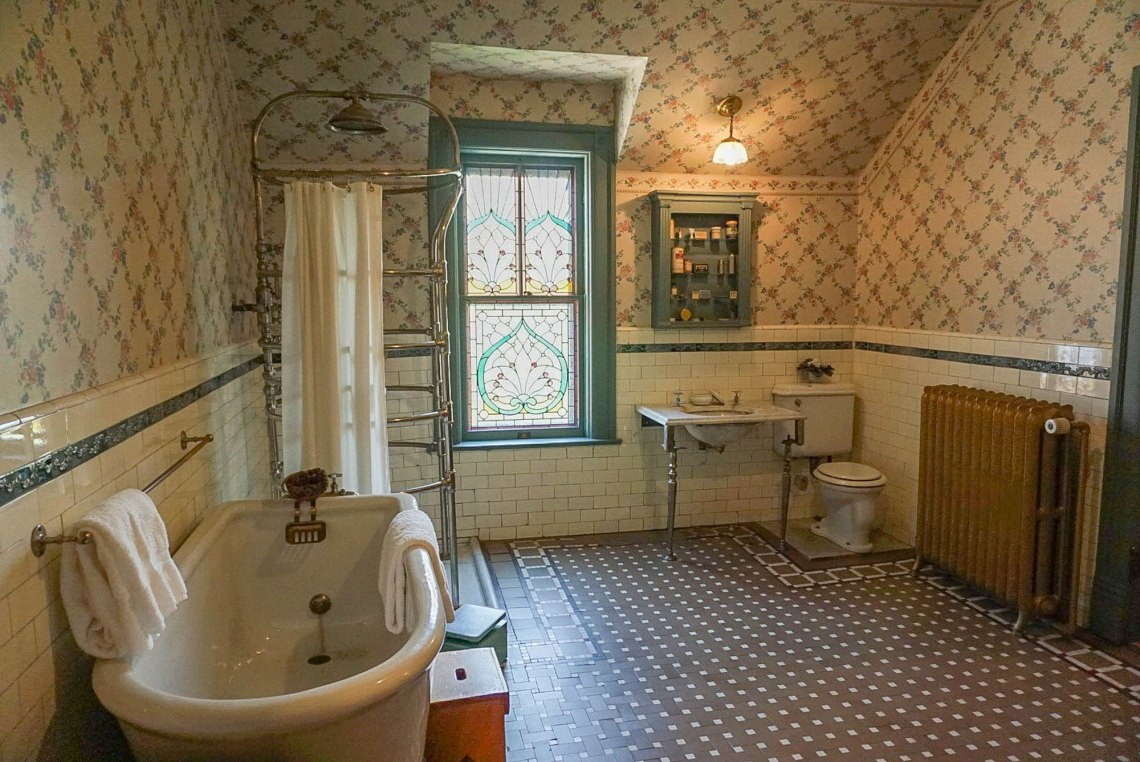 Ivinson Mansion Bathroom - Wyoming Women
